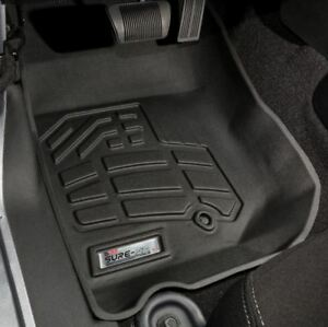 Jeep Wrangler 2007 2013 Wade Sure fit Floor Mats Liners Front Black