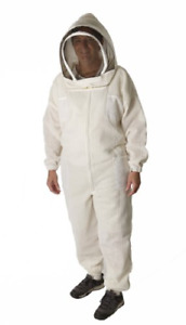 Ultra Breeze Medium Beekeeping Suit With Veil 1 unit White