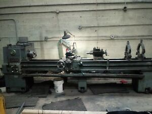 17 X 114 Cincinnati Tool Room Engine Lathe Tooling Aloris Nice Big Lathe Great