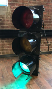 Official Traffic Light All Black Brand New Wired W Controller
