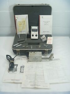 Surface Roughness Tester Profilometer Marduth Sr 17 Sr 14b Roughometer As Is