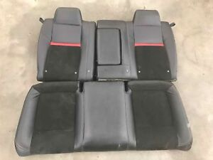 2009 Dodge Challenger Srt8 Rear Seat Set Red Stripe Good Condition