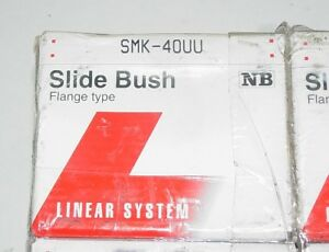 Nippon Bearings Smk40uu 40mm Slide Bush Bushings Linear Motion Bearings Nib