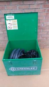 Greenlee 854 855 Gx Quad Smart Conduit Pipe Bender Pvc Coated Shoes 1 2 2 40mil