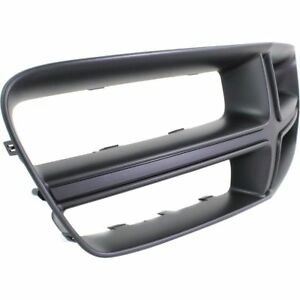 New Front Upper Black Plastic Grille Shell For Dodge Charger 2011 2014 Ch1210108