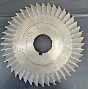 B s 6 Horizontal Milling Cutter 6 X 20 X 1 3 8 Mill Machinist Slitting Saw