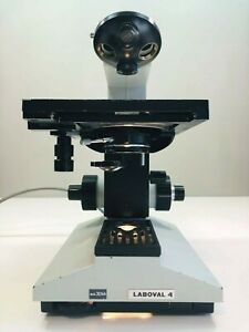Aus Jena Laboval 4 Zeiss Microscope Incomplete 2