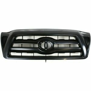 New Front Plastic Grille For Toyota Tacoma 2005 2010 To1200279