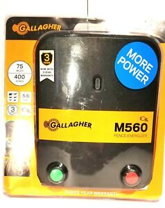 Gallagher Electric Fence Energizer M560 5 6 Joule New Free Shipping