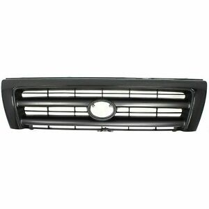 New Front Black Plastic Grille For Toyota Tacoma 1998 2000 To1200211