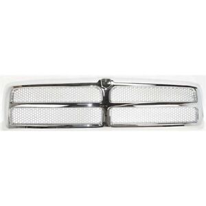 New Front Honeycomb Chromed Grille For Dodge Ram 2500 1994 2002 Ch1200178