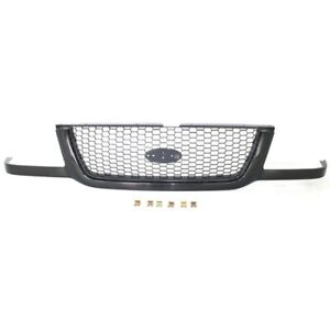 New Black With Emblem Provision Grille For Ford Ranger 2001 2003 Fo1200395