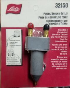 New Lisle Cigarette Lighter Plug Electrical Ground 12v Power Source 32150