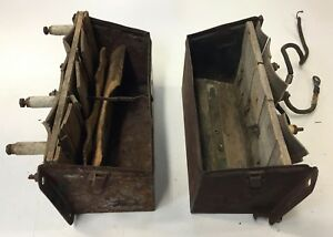 Ford Model T Early Years 2 Coil Boxes For Parts No Lids For Parts Or Rebuild