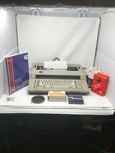 Ibm 6715 001 Actionwriter 1 Electric Typewriter Bundle Tested Bo