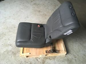 2005 Honda Odyssey 3d Third Row Rear Left Driver Side Seat Leather Grey Oem