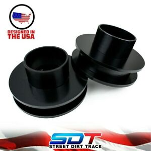 2 Front Leveling Kit For Dodge Ram 1500 2500 3500 2wd Steel Coil Spacers