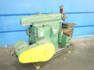 Hendey 16 Crank Shaper 14 X 20 Table 11181230101
