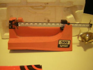 Lyman 500 powder scale