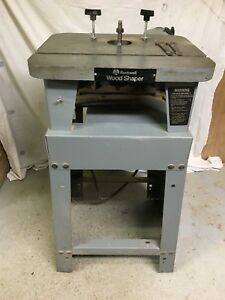 Delta 43 122 Light Duty Shaper W Cutters woodworking Machinery