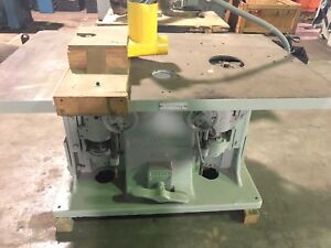 Baxter D Whitney No 50 A Spindle Shaper