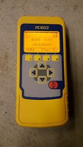 Spectra Precision Rc603 Remote Control For Ul633 Slope Grade Laser Trimble