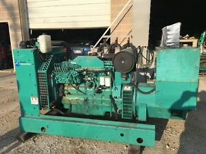 150 Kw Good Used Cummins Open Generator Set