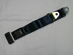 Set Of 4 Dark Blue 2 Point Lap Seat Belts Middle Passenger Safety Belt Navy
