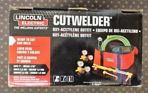 Lincoln Electric Cutwelder Kit Oxy acetylene Outfit Kh995 Brand New In The Box