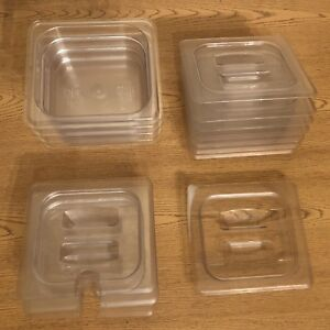 Lot Of 16 Cambro Camware En 631 1 Food Serving Storage Containers