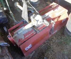 Work Saver Usa Tiller For 3 point Hitch Hookup 48 Inch Wide With New Tines Euc