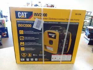 Catapillar cat Inverter Generator inv2000 522 2700