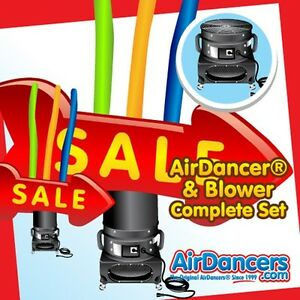 Red Sale Giant Arrow Air Dancer Blower Sky Dancer Inflatable Advertising Set