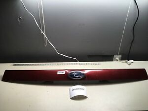 2009 Subaru Forester Rear Exterior Liftgate Trunk Panel Trim With Emblem Oem