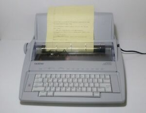 Brother Correctronic Gx 6750 Electronic Daisy Wheel Typewriter W Cover