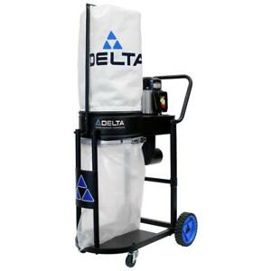 Delta Dust Collector Motor Blower Support Frame 2 Micron Filtration Bag 1 Hp