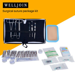 8 piece Set Medical Surgical Skin Suture Practice Training Skin Pad Module Kit