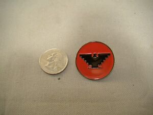 Red Black United Farm Workers Pin Huelga Bird Pin Jacket Pin Hat Shirt Ufw Pin