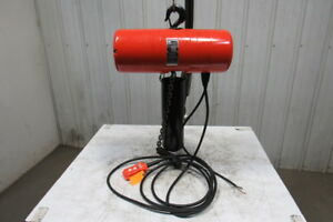 Cm Lodestar Model L 1ton 1hp Electric Chain Hoist 230 460v 3ph 20 10 Lift 16fpm