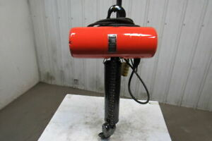 Cm Lodestar Model Rr 2 Ton Electric Chain Hoist 20 3 Lift 16fpm 240 480v 3ph