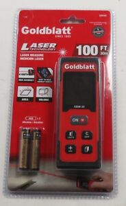 Goldbaltt Laser Measure 100ft Digital Tape Measurement For Distance Area