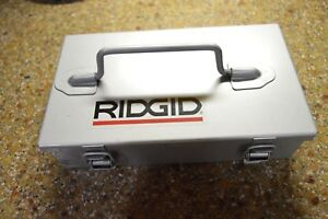 Ridgid 23487 Knock Out Punch Set 1 2 3 4 1 1 1 4 1 1 2 2 Conduit