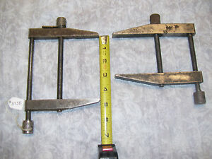 Parallel Clamps 2 Vintage Machinist Toolmaker Parallel Clamps