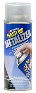 Plasti Dip Performix 11247 6 Bright Aluminum Metalizer 11 Oz