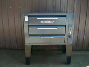 Blodgett 931 Natural Deck Gas Double Pizza Oven With New Stones Bake