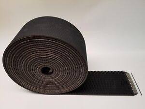 John Deere 450m Megawide Silage Round Baler Belts Set 3ply Diamond Top Alligator