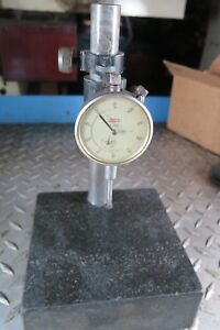 Granite Base Surface Plate 6x6 And Dial Indicator