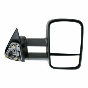 New Right Side Manual Operated Towing Mirror For Gmc Sierra 1500 Classic 2007