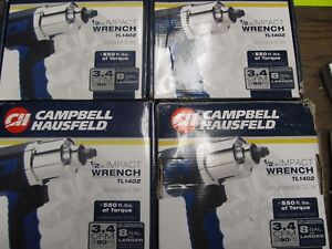 Brand New Campbell Hausfeld 1 2 Impact Wrench Tl1402 550 Ft Lbs Of Torque