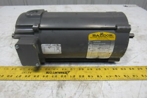 Baldor Cdp3445 34 5990 3675 1hp 1750rpm 90v 56c Direct Current Dc Moto